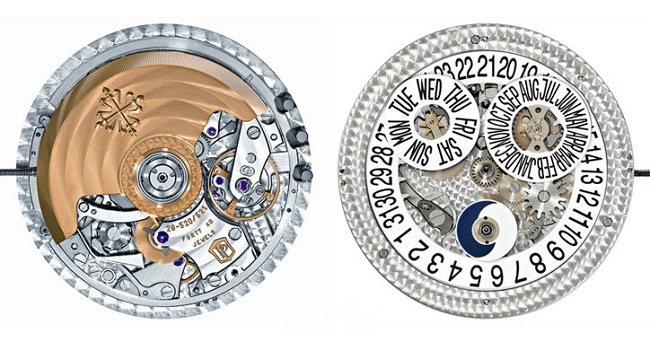 Patek Philippe Annual Calendar Chronograph movement