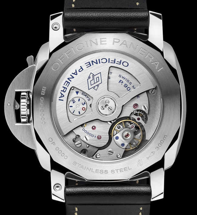 Panerai Luminor 1950 3 Days GMT 24H caseback