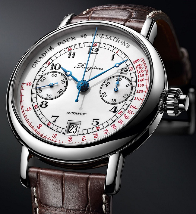 Longines Pulsometer Chronograph L2.801.4.23.2 photo1