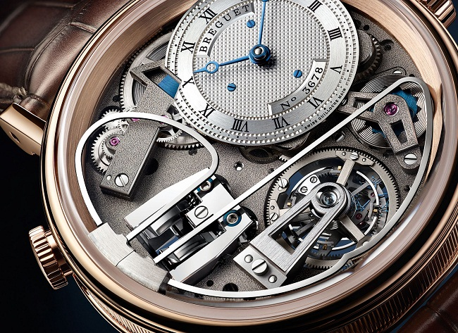 Breguet Tradition Répétition Minutes Tourbillon 7087 dial