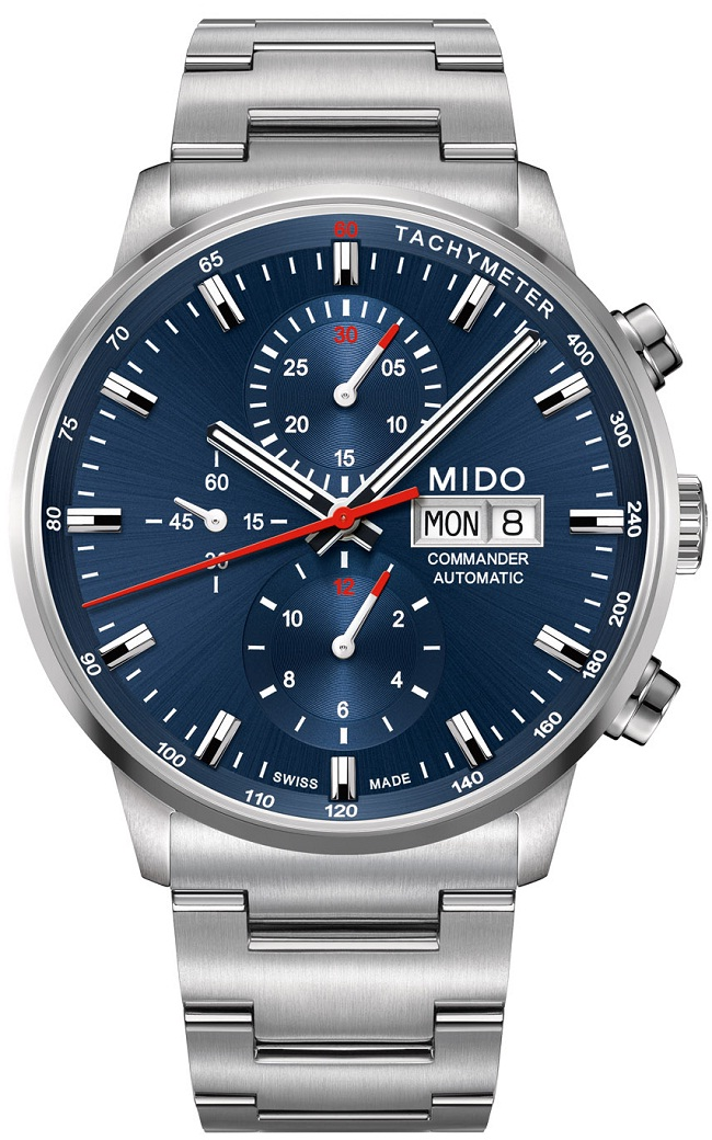 Mido Commander Chronograph Caliber 60 M016.414.11.041.00