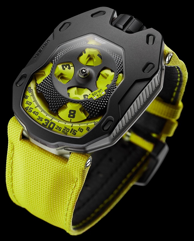 URWERK UR-105 TA Black Lemon photo