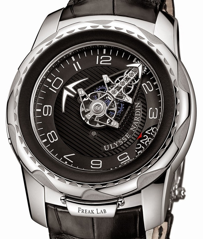 Ulysse Nardin FreakLab 2100-138 front photo