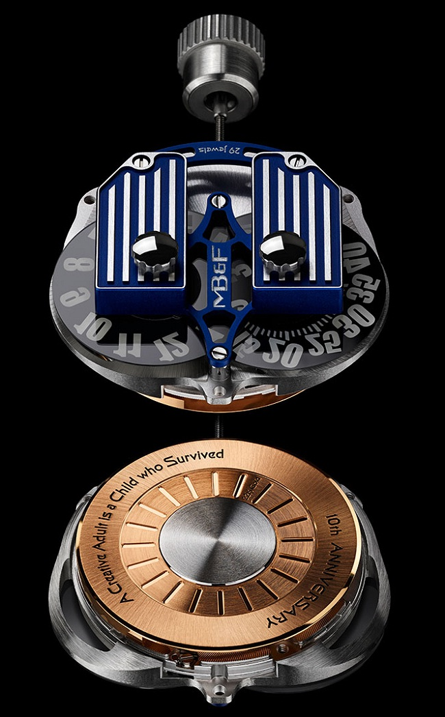 MB&F HMX movement
