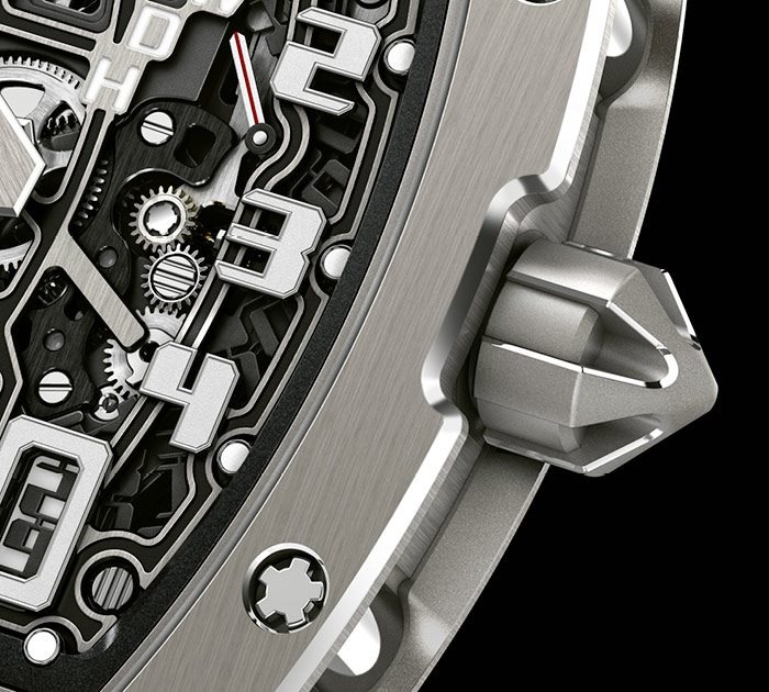 Richard Mille RM 67-01 crown