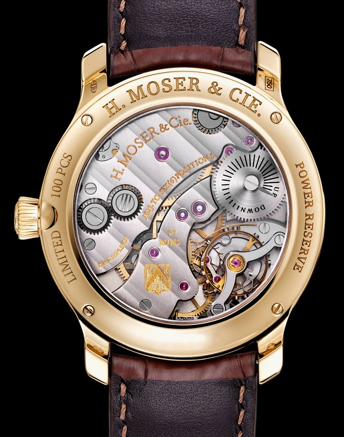 H. Moser & Cie. Endeavour Small Seconds Bryan Ferry Limited Edition back