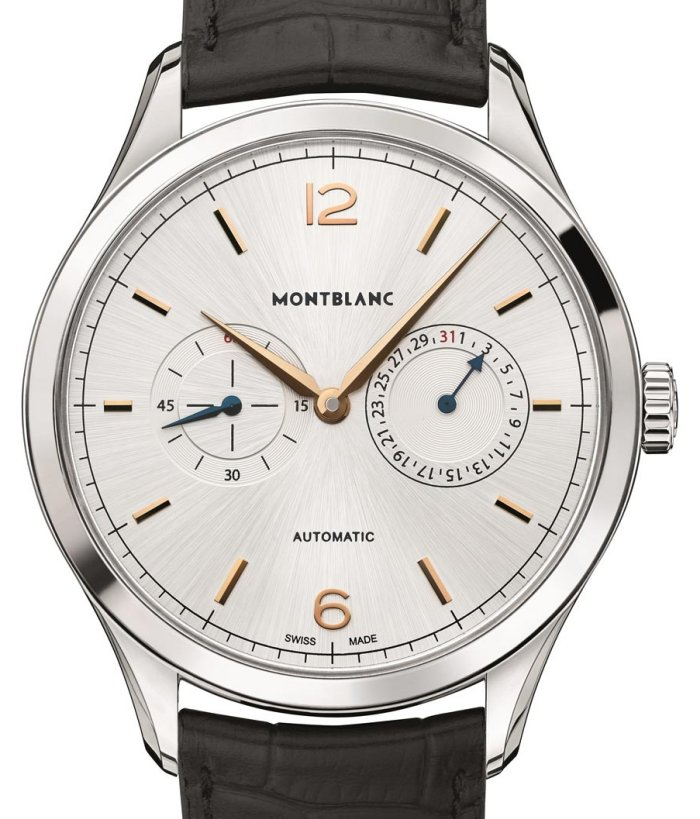 Montblanc Heritage Chronometrie Twincounter Date front
