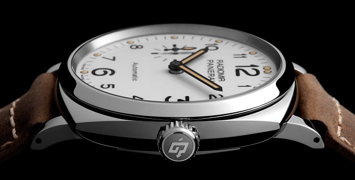 Officine Panerai Radiomir 1940 3 Days Automatic PAM00655 crown