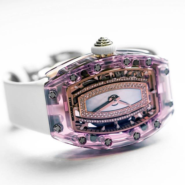 Richard Mille RM07-02 Pink Lady Sapphire Automatic photo