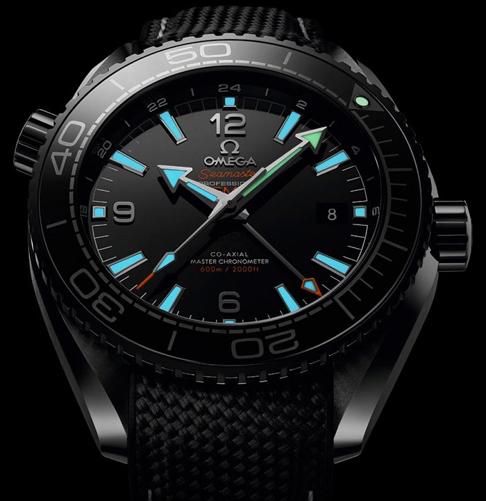 Omega Seamaster Planet Ocean Deep Black 215.92.46.22.01.001 dark