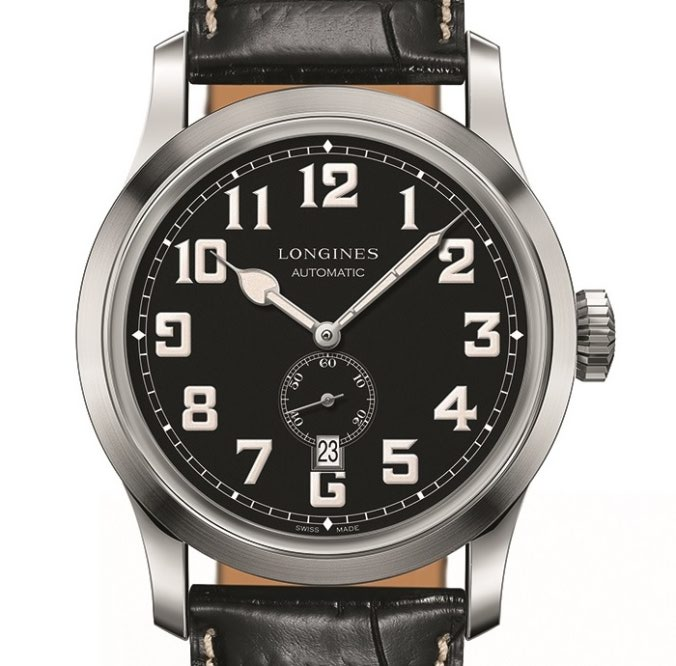 Longines Heritage Military L2.811.4.53.0 front