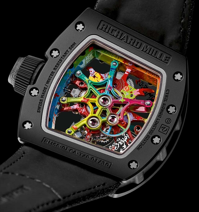 Richard Mille RM 68-01 Cyril Kongo back