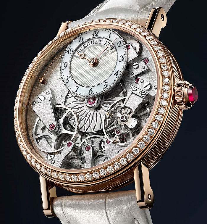 Breguet Tradition Dame 7038 Rose Gold front