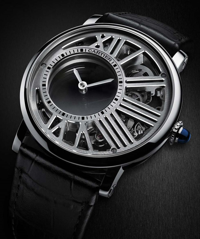 Cartier Rotonde de Cartier Mysterious Hour Skeleton photo1