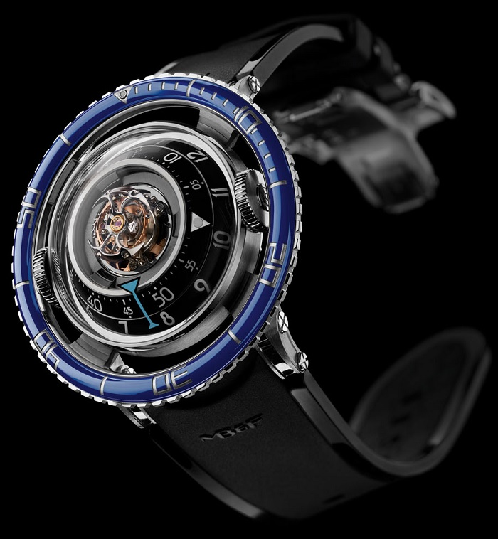 MB&F Horological Machine No.7 Aquapod Titanium photo