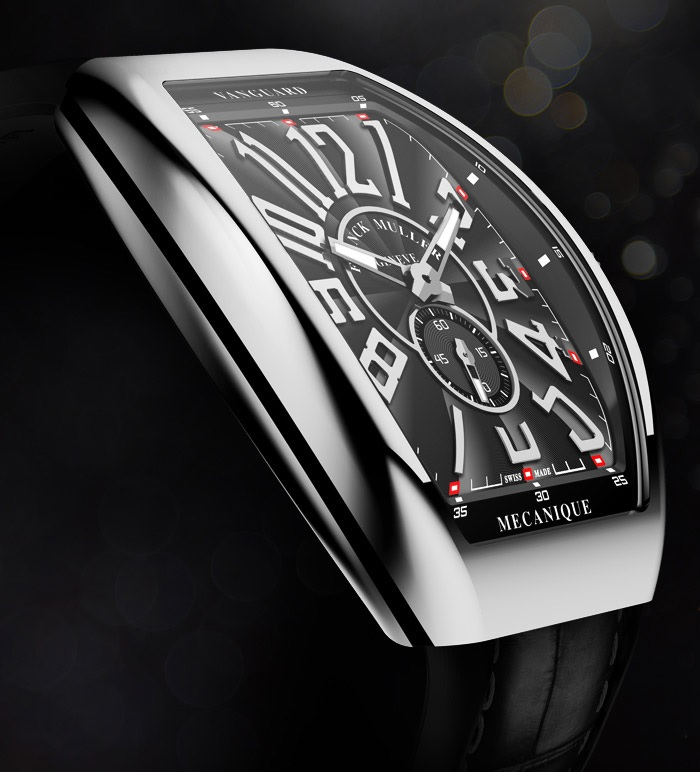 Franck Muller Vanguard Slim V45 SS6 steel side