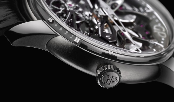 Girard-Perregaux Neo-Bridges 84000-21-001-BB6A crown