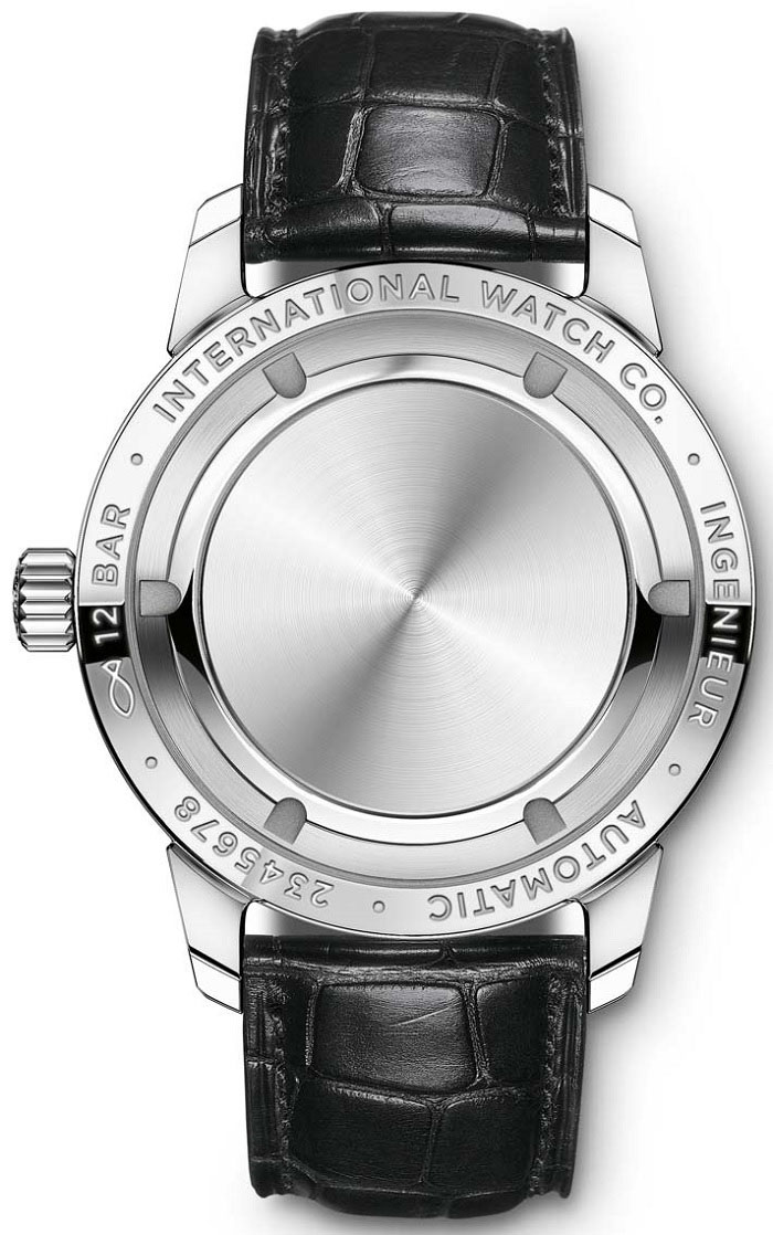 IWC Ingenieur Automatic -iw357001 back