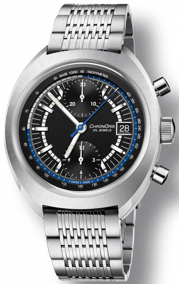 Oris Chronoris Williams 40th Anniversary Limited Edition 01 673 7739 4084-Set LS steel bracelet