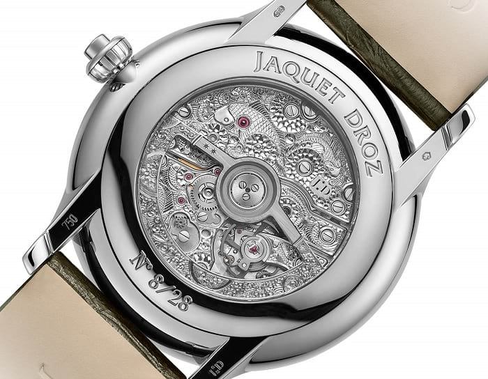 Jaquet Droz Magic Lotus Automaton J032634270 back