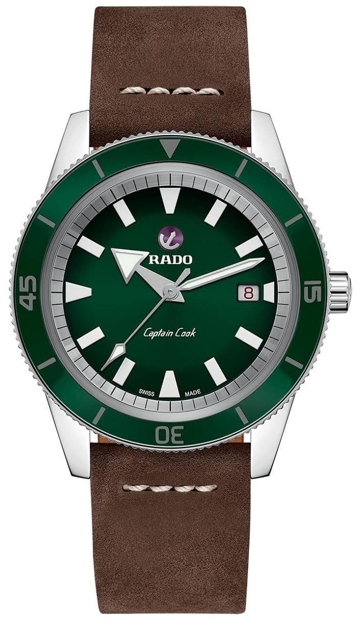 Rado Tradition Captain Cook Green R32505315