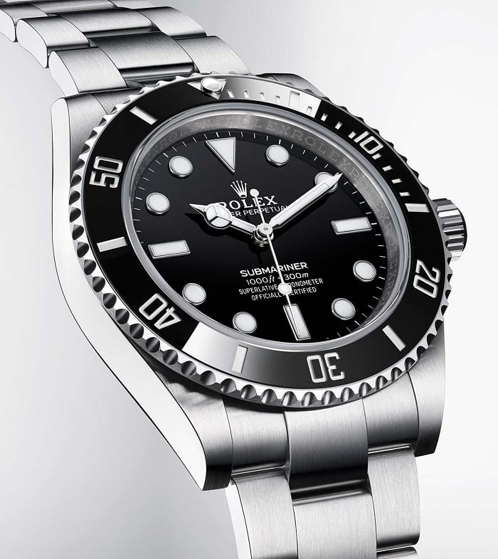 Rolex Oyster Perpetual Submariner 124060 front