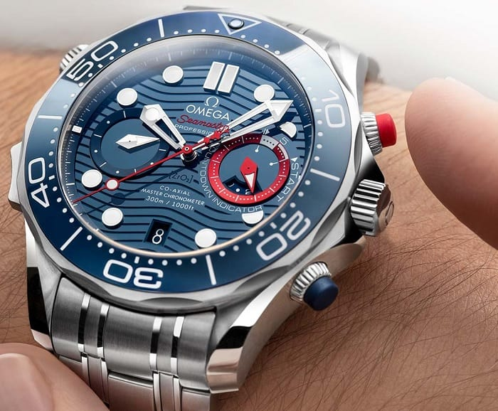 Omega Seamaster Diver 300M America's Cup Chronograph 210.30.44.51.03.002 photo-5